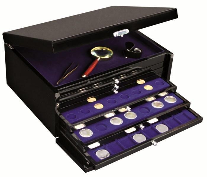 SAFE 6590 - Zásuvkový box + 1 šuplík na hodinky