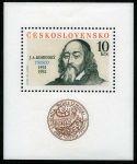 (1992) A 3002 ** (10 Kčs) - Jan Ámos Komenský - pedagog a spisovatel