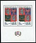 (1993) A 10 ** - 8 Kč - Česká republika - Velký státní znak