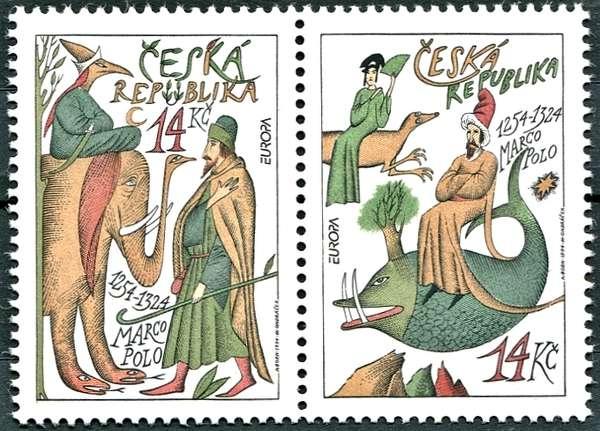 (1994) č. 36-37 ** (SP 1) - Česká republika - EUROPA: Marco Polo