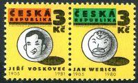 (1995) č. 67-68 ** - Česká republika - 2-bl - Osvobozené divadlo