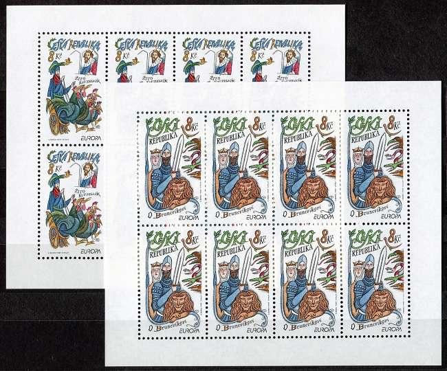 Česká pošta (1997) PL 144 - 145 ** - EUROPA