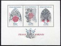 (1998) A 174 - 176 ** - Česká republika - Praha Karla IV.