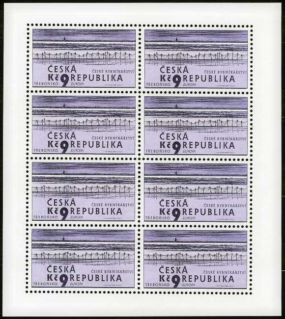 Česká pošta (2001) PL 290 ** - EUROPA