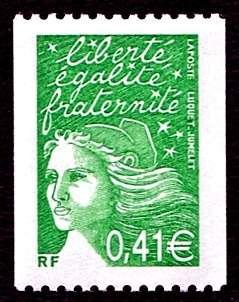 (2002) MiNr. 3584 ICy ** - Francie - Marianne