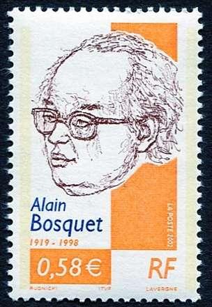 (2002) MiNr. 3599 ** - Francie - Alain Bosquet