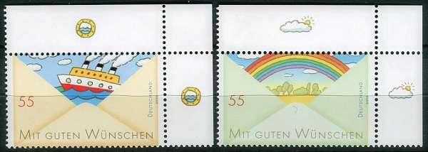 (2010) č. 2786 - 2787 ** - Německo - Grußmarken