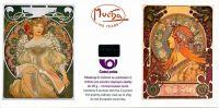 Alfons Mucha - známkový sešitek