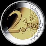 Itálie mince 2 € - 10. let Eura