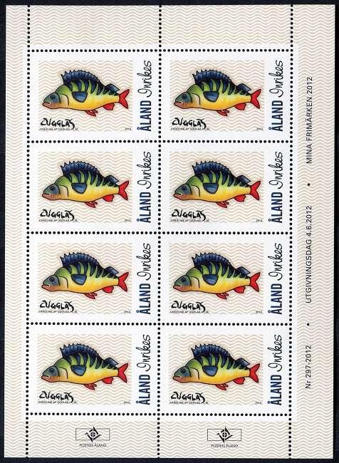 (2012) č. 361 ** - PL - Aland - My Stamp 2012