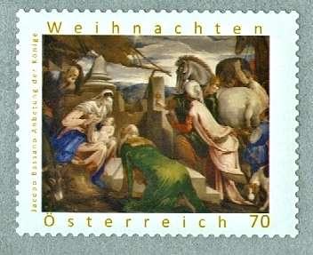 (2012) MiMr. 3038 ** - Rakousko - Vánoce - Klanění tří králů