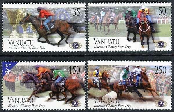 MiNr. 1478 - 1481 ** - Vanuatu - Charitativní dostih