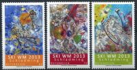 (2013) MiNr. 3043 - 3045 ** - Rakousko - Lyžařské MS 2013 ve Schladmingu