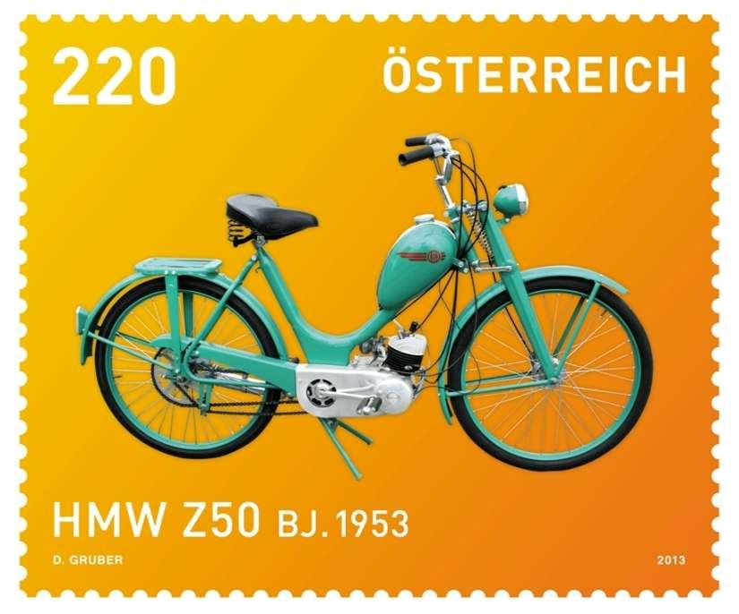 Motocykl - Rakousko