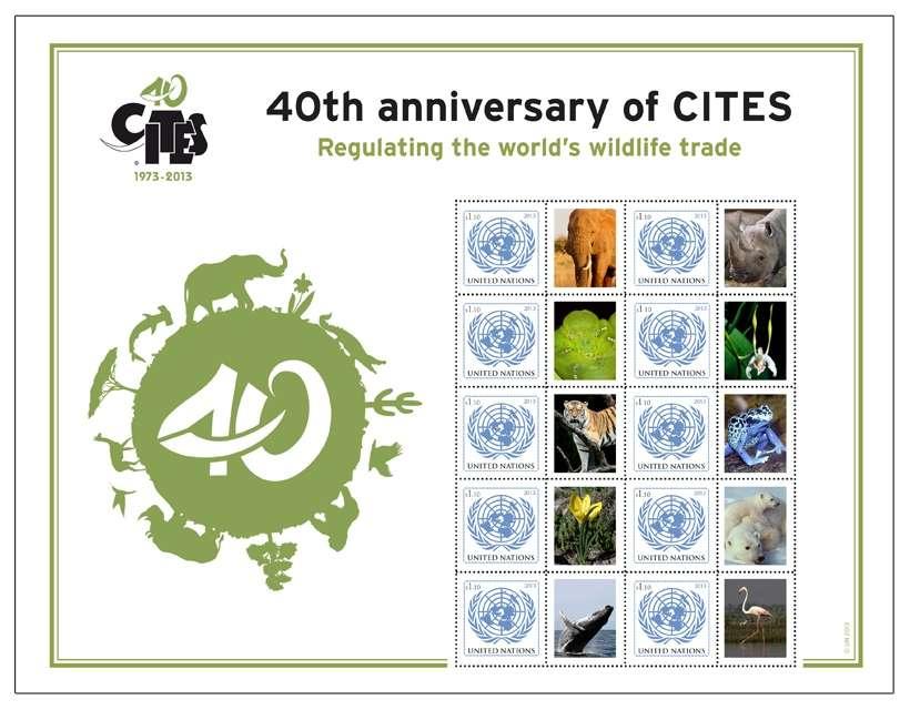 (2013) OSN New York ** - PL - 40. výročí CITES