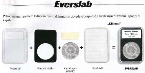 Leuchttum - Everslab kapsle na mince