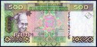 Guinea - (P 39) 500 FRANCS (2006) - UNC
