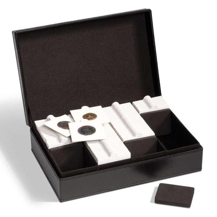 Mincovní kazeta PRESIDIO pro mincovní rámečky a kapsle Quadrum
