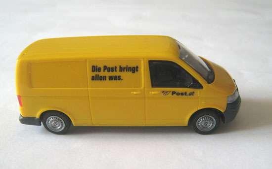 VW Transportet T5 - Rakouská pošta - 1:87