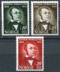 (1945) MiNr. 304 - 306 ** - Norwegen - briefmarken