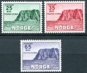 (1957) MiNr. 408 - 410 ** - Norwegen - briefmarken
