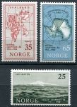(1957) MiNo. 411 - 413 ** - Norway - postage stamps