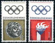 (1966) č. 1550 - 1551 ** - Československo - Československý olympijský výbor