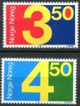 (1987) MiNo. 961 - 962 ** - Norway - postage stamps