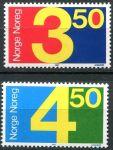 (1987) MiNr. 961 - 962 ** - Norsko - poštovní známky