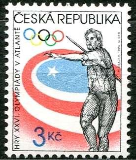 Poštovní známka- č. 116 - OH v Atlantě