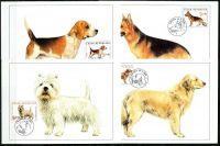 (2001) CM 33-36 (300-303) - Chovatelství:  Psi