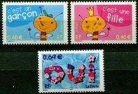 (2002) MiNr. 3600 - 3602 ** - Francie - poštovní známky