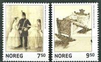 (2005) MiNr. 1520 - 1521 ** - Norsko - poštovní známky
