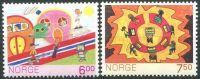 (2005) MiNr. 1527 - 1528 ** - Norsko - poštovní známky