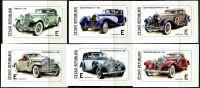 (2012) č. 735 - 740 ** - Česká republika - Historické automobily