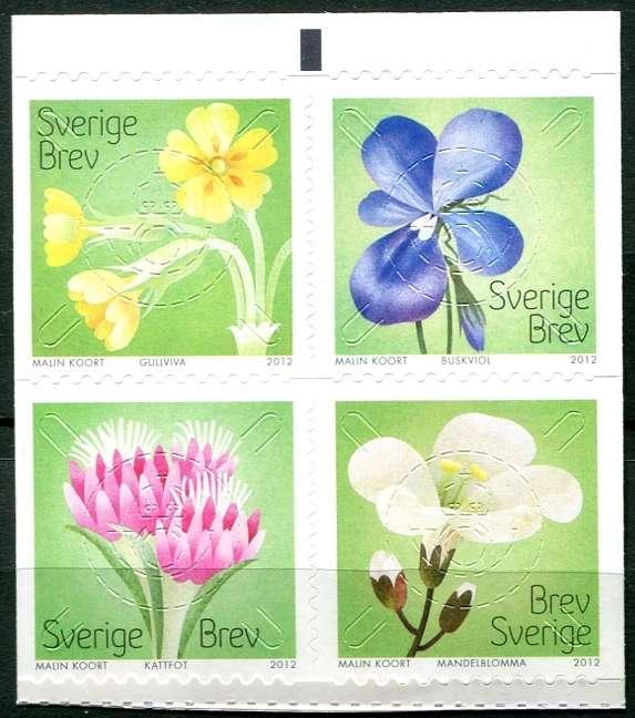 Švédsko - známky