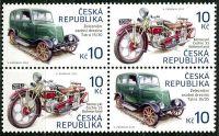 (2013) č. 768 - 769 ** - Česká republika - 4-bl - Historické dopravní prostředky