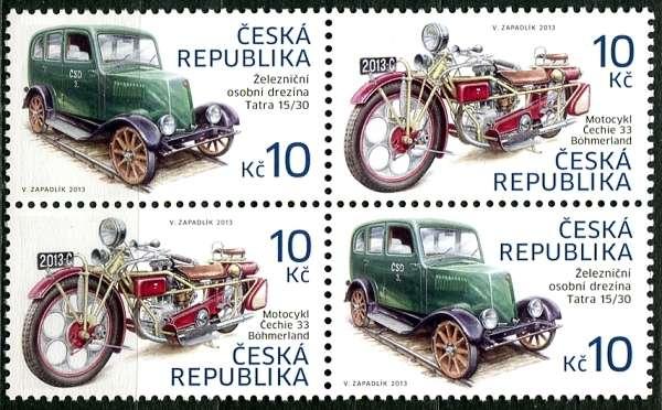 4-bl - historická vozidla