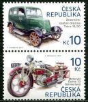 (2013) č. 768 - 769 ** - Česká republika - 2-bl - Historické dopravní prostředky