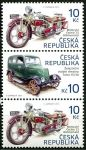 Zobrazit detail - (2013) č. 768 - 769 ** - Česká republika - 3-bl - Historické dopravní prostředky