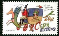 (2013) č. 770 ** - Česká republika - 130 let poštovního bankovnictví