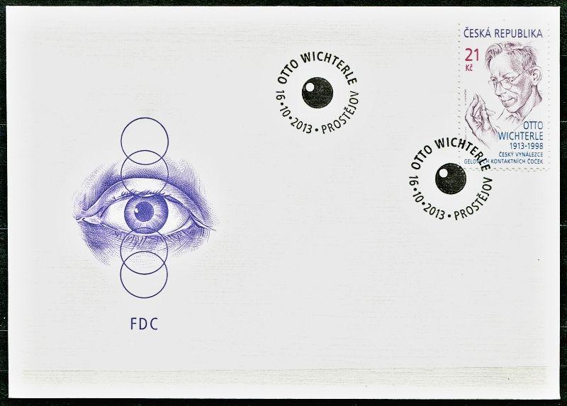 Česká pošta (2013) FDC 790 - Otto Wichterle
