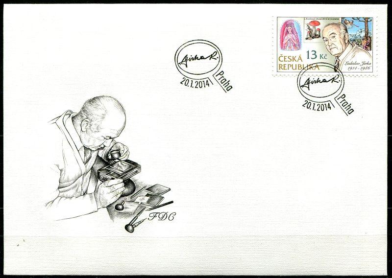 FDC 795 - Tradice české známkové tvorby