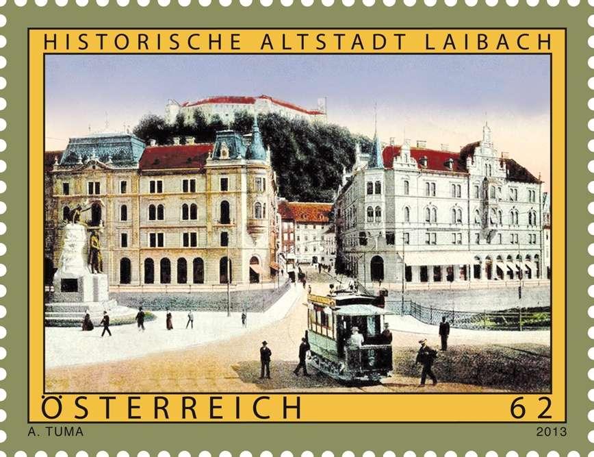 Rakousko - poštovní známky