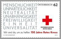 (2013) MiNr. 3071 ** - Rakousko - 150 roků Červeného kříže
