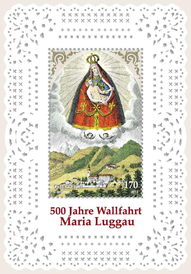 Rakousko známky - Maria Luggau