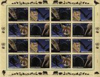 OSN známky - zvířata