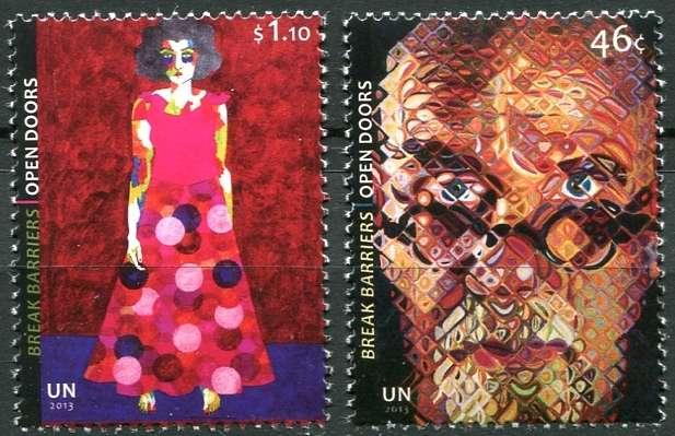 OSN New York - poštovní známky