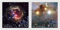 (2013) MiNr. 1360 - 1361 ** - OSN New York - Vesmír