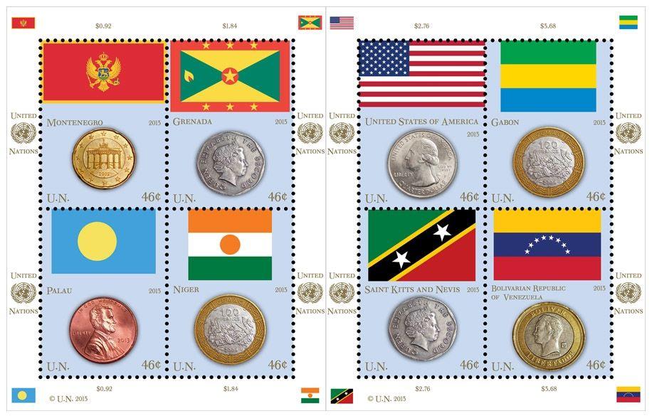 Vlajky a mince 2013